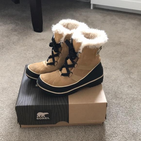 Sorel Shoes - Sorel Tivoli 2 winter boots. Colour: curry